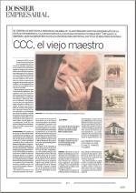 CCC el viejo maestro. Juanjo Azcárate en Dossier empresarial.