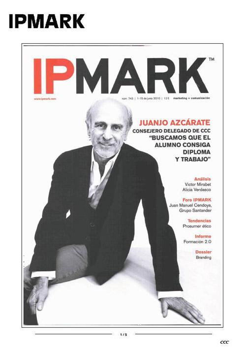 Buscamos que el alumno consiga diploma y trabajo IPMark 01/06/2010