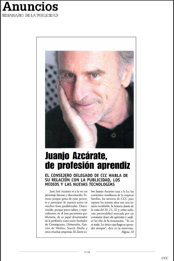 Juanjo Azcárate de profesión aprendiz 28-03-2011